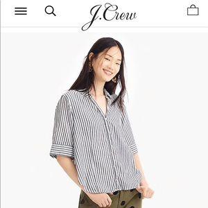 J. Crew short sleeve button up